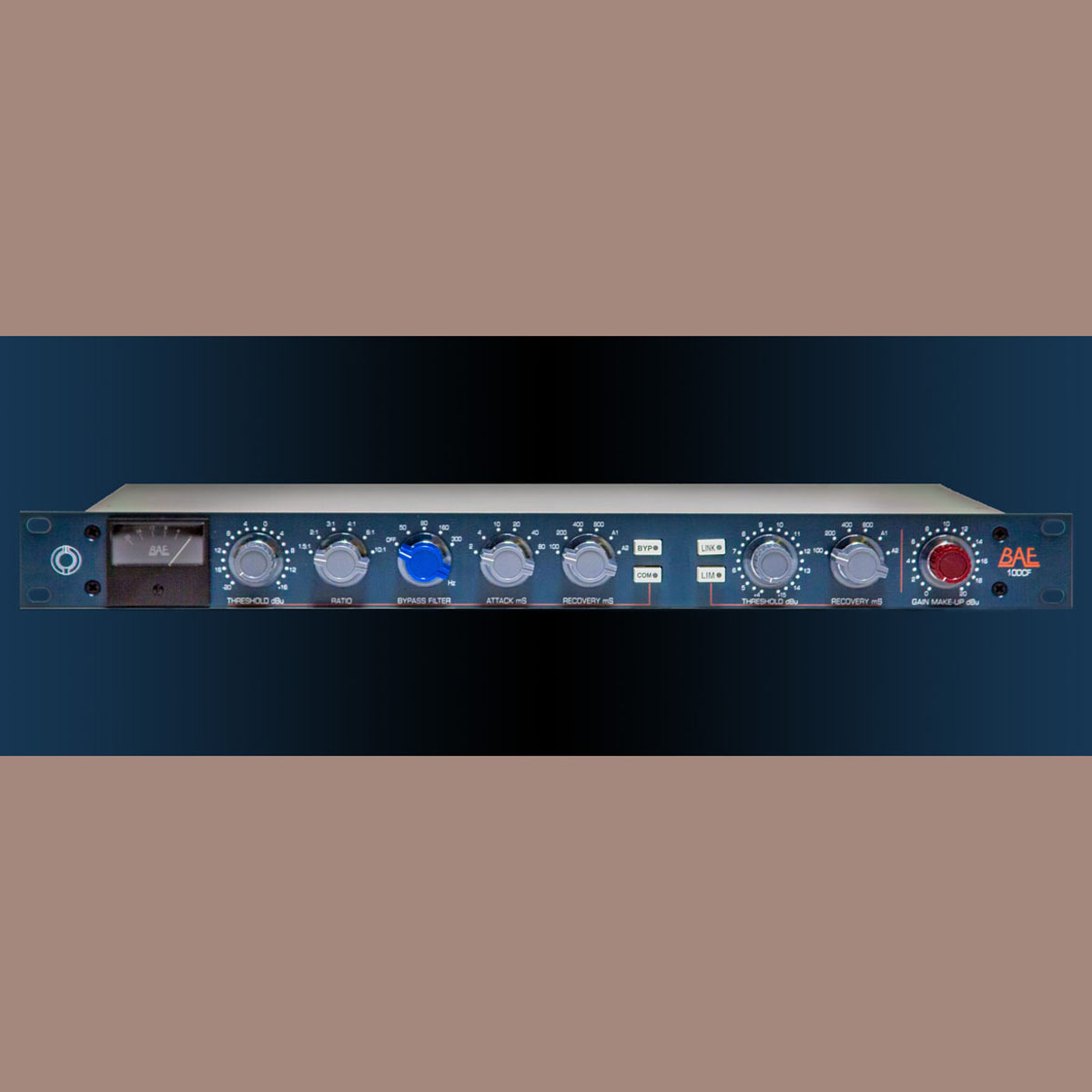 BAE 10DCF Single Channel Limiter Compressor with PSU