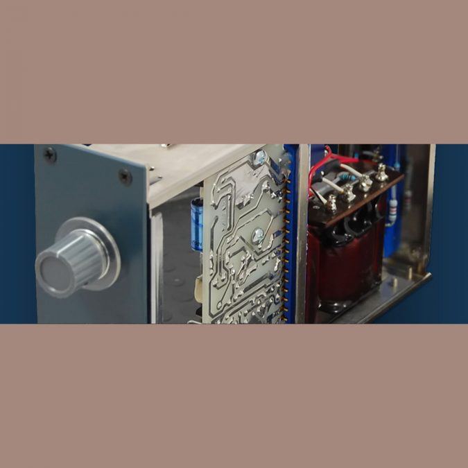 BAE 1272 Mic Pre Module (Blue)