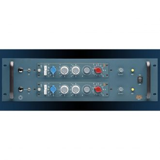 BAE 2CR Dual Channel Powered Rack – Blue