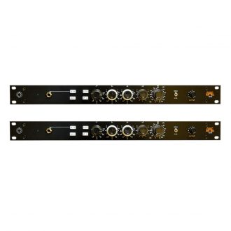 BAE 1084 Mic Pre/EQ Pair w/PSU (Black)