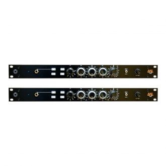 BAE 1023 Mic Pre/EQ Pair w/PSU (Black)