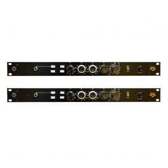BAE 1073 Mic Pre/EQ Pair w/PSU (Black)