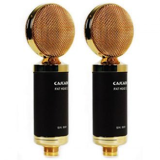 Cascade Fat Head II Stereo Pair Ribbon Microphones