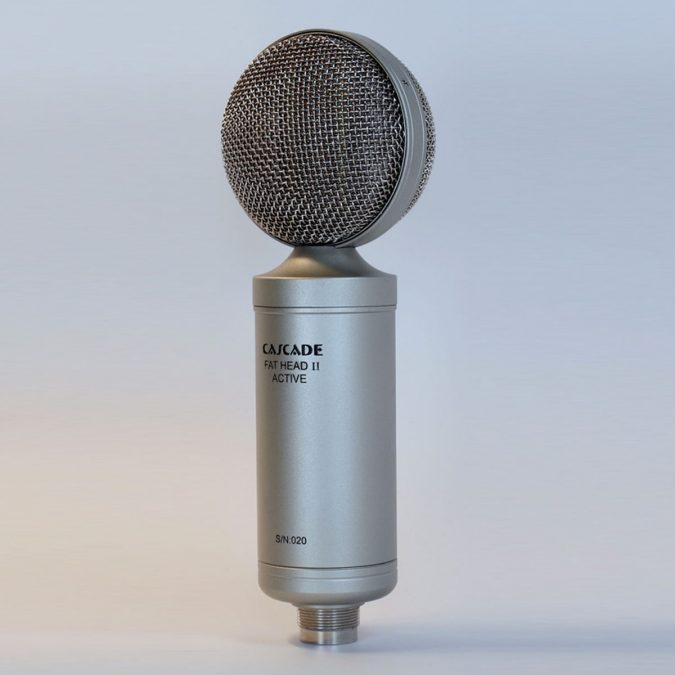 Cascade Fat Head II Active/Passive Selectable Ribbon Microphone