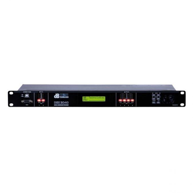 dBTechnologies DSX 2040 Digital Controller