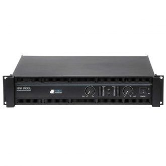 dBTechnologies HPA-3100L Amplifier 2 x 1200 Watt RMS