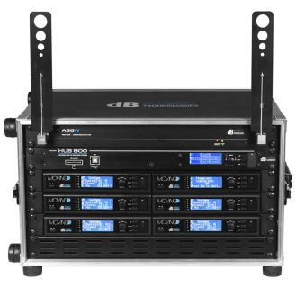dBTechnologies Moving D Touring Rack Digital System