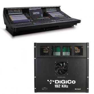 Digico SD5CS Console – Live SD Rack Optic Package