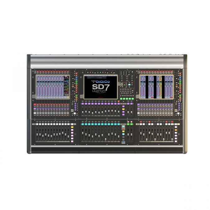 DiGiCo SD7 Quantum – Live SD Rack Optic Package