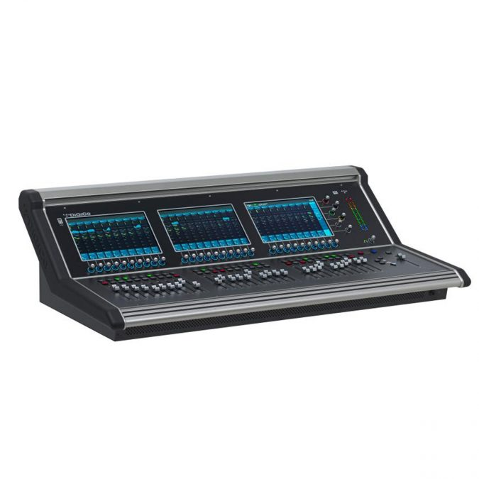 DiGiCo S31 Control Surface 31 Fader 3 Screens