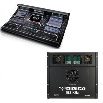 DiGiCo SD7 Quantum – Live SD Rack Optic Package