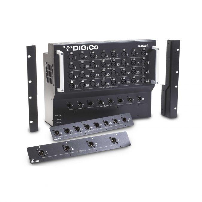 DiGiCo D-Rack Stage Box