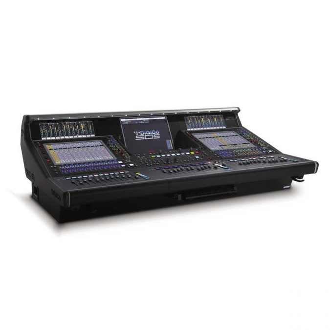 Digico SD5CS Console – SD Rack MADI Package