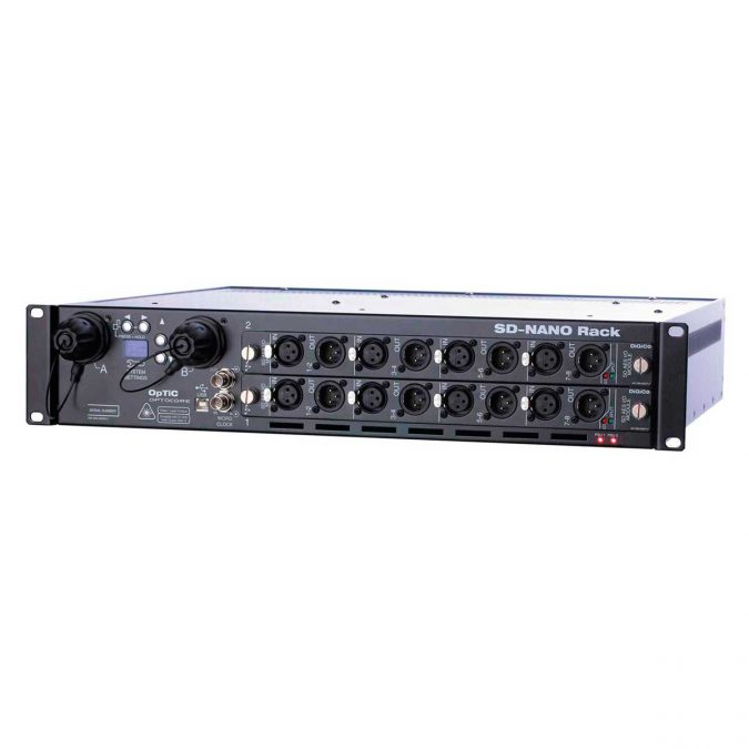 DiGiCo SD-Nano Rack