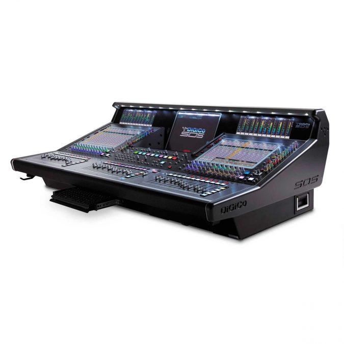DiGiCo SD5 Digital Mixing Control Surface
