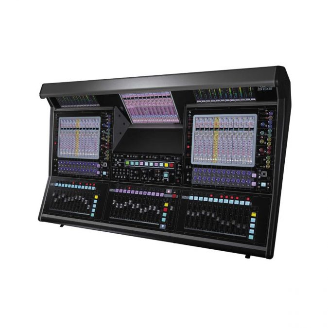 Digico SD5 Console – Live SD Rack Optic Package