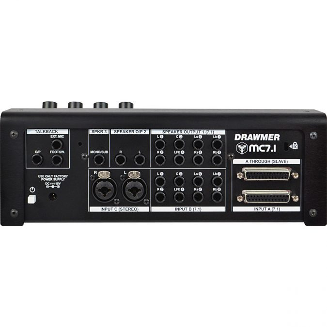 Drawmer MC7.1 Monitor Controller