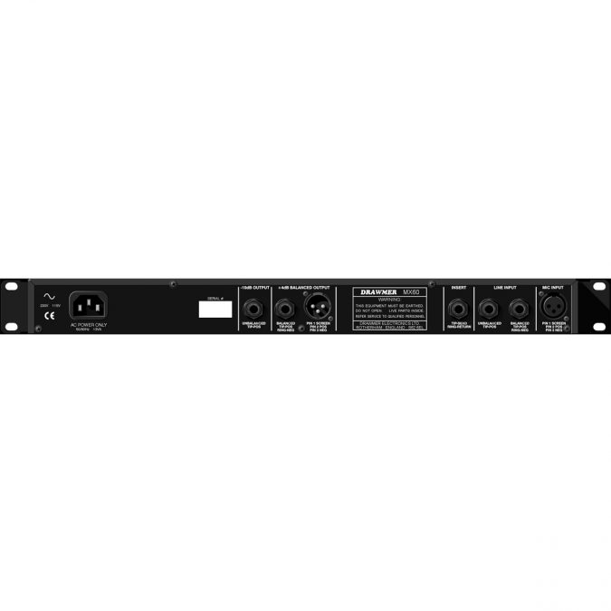 Drawmer MX60-PRO Channel Strip