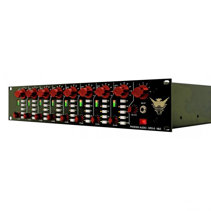 Phoenix Audio DRS-8 Mk2 8 Channel Class-A Mic Preamp/DI
