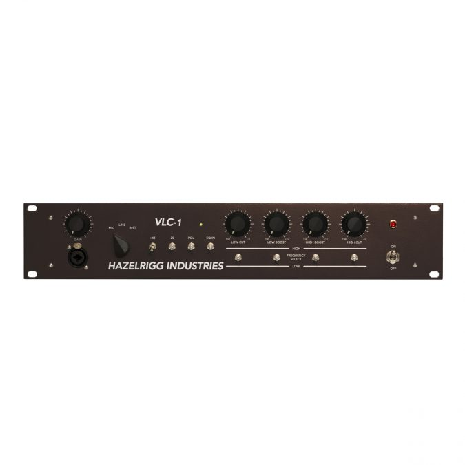 Hazelrigg Industries VLC-1 Single-Channel Mic Preamp