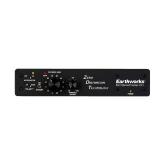 Earthworks 1021 Single Channel Zero Distortion Technology Preamplifier