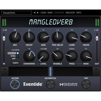 Eventide MangledVerb Stereo-Reverb Plugin