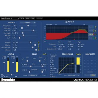 Eventide ULTRAREVERB Native Plugin Bundle