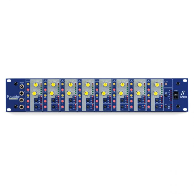 Focusrite AMS-ISA828 Eight Channel Mic Preamp