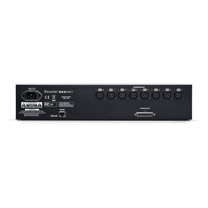 Focusrite AMS-RedNet 4 – 8 Channel Remote Mic Preamp