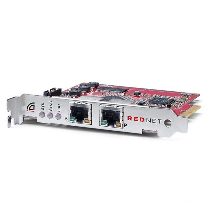 Focusrite AMS-RedNet PCIeR – 128 Channel I/O