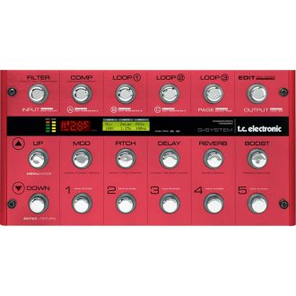 TC Electronic G-system Ib Modified Guitar Pedal Effects