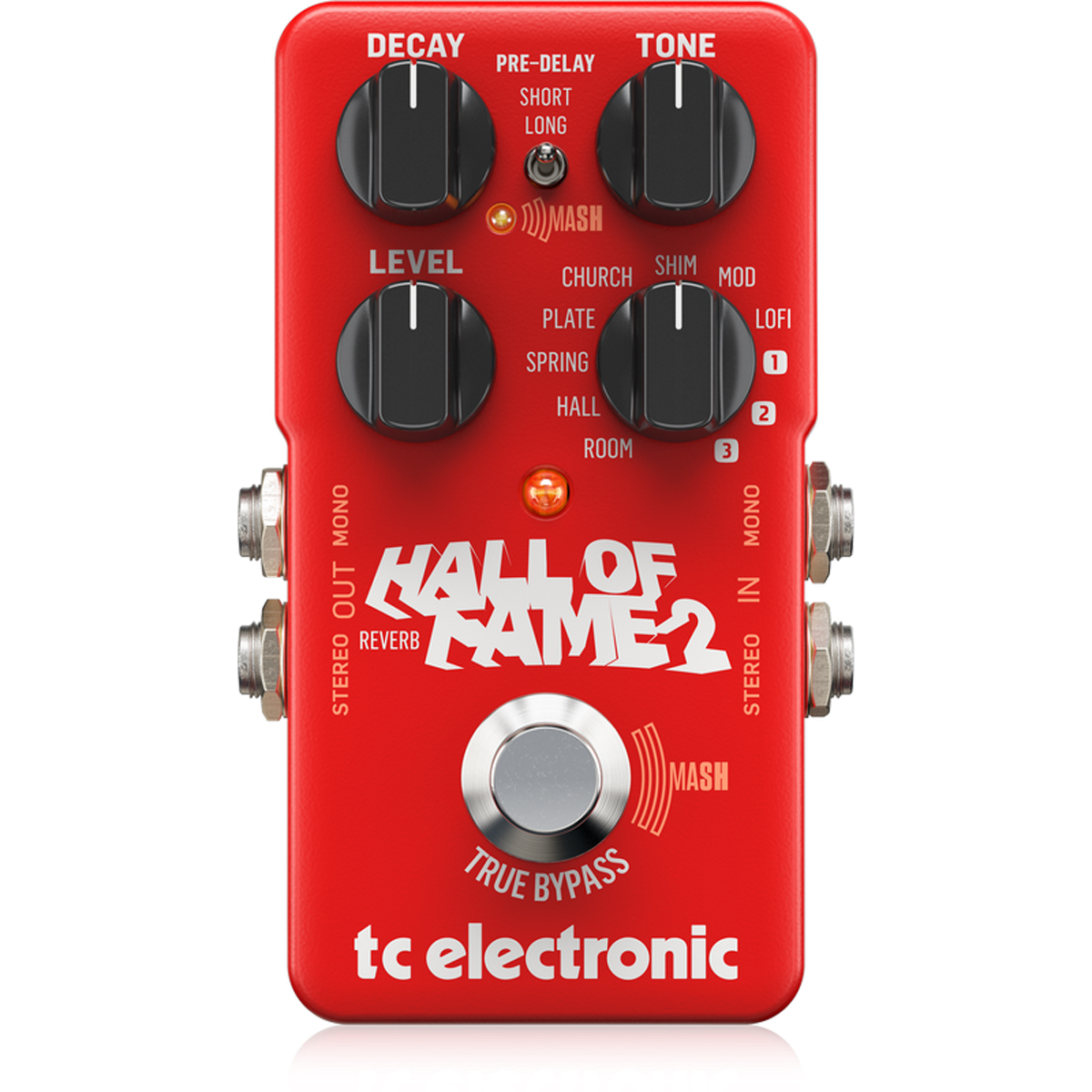 tc electronic hall of fame 2 reverb pedal sonic circus. Black Bedroom Furniture Sets. Home Design Ideas