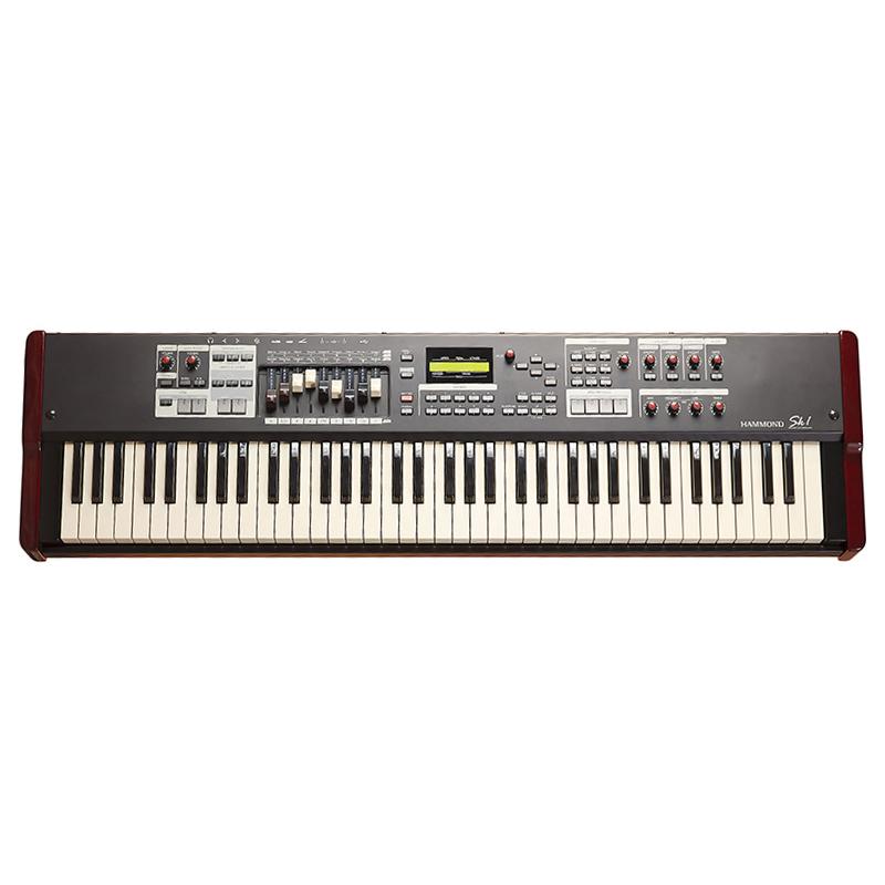 Hammond SK1-73 Instrument Keyboard Burgundy & Black (73 Note)