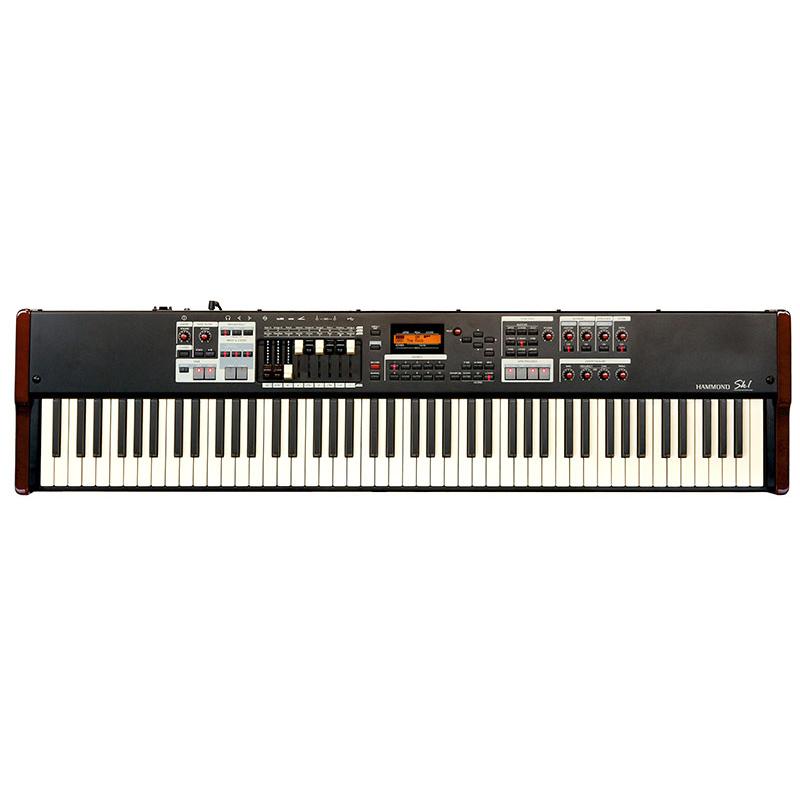 Hammond SK1-88 Instrument Keyboard Burgundy & Black (88 Note)