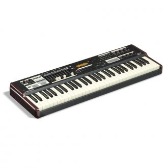 Hammond SK1 Instrument Keyboard Burgundy & Black (61 Note)