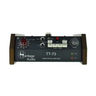 Heritage Audio TT-73 Tabletop Mic Preamplifier
