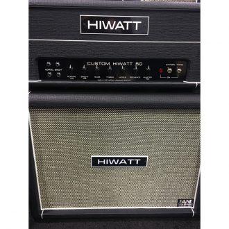 Hiwatt Custom 50 Handwired with 4 x 12 Fane Cabinet