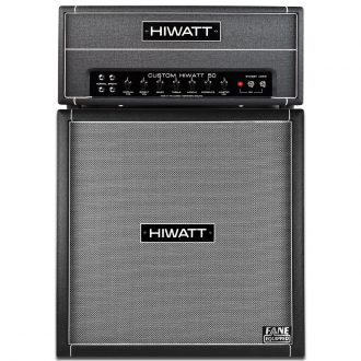 Hiwatt Custom 50 Handwired with 4 x 12 Fane Cabinet