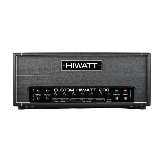 Hiwatt DR201 Custom 200 Watt Bass Amp Head