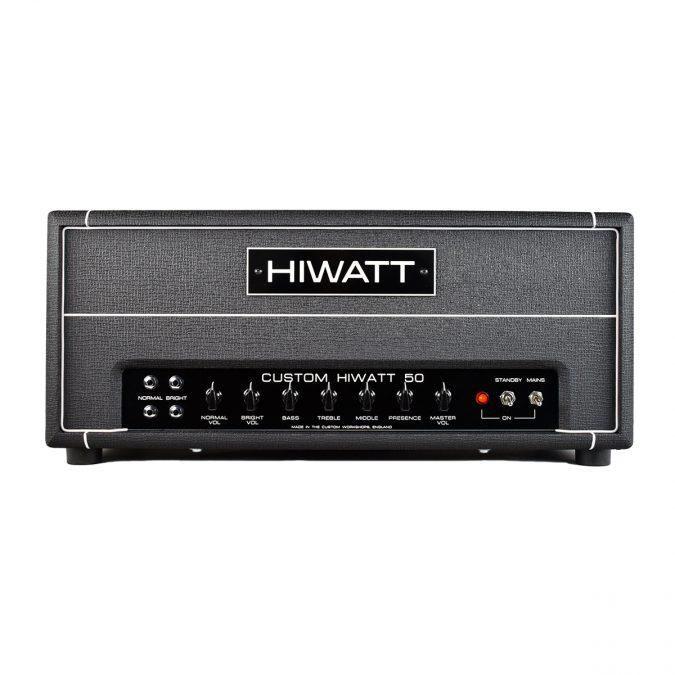 Hiwatt DR504 Custom 50 Watt Guitar Amplifier Head