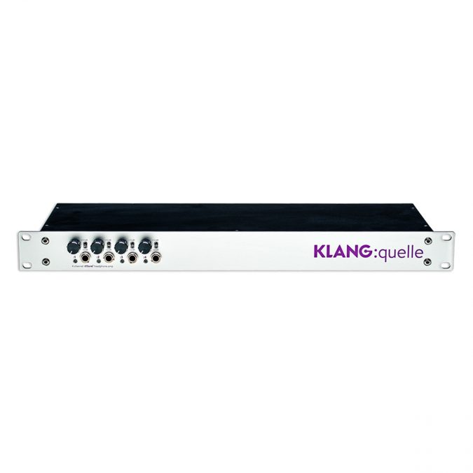 Klang Quelle19 8-Ch Dante XLR Headphone Amp