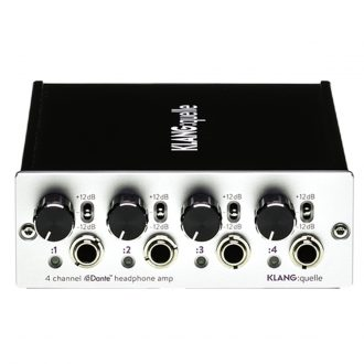 Klang Quelle 4-Ch Dante Network Headphone Amp