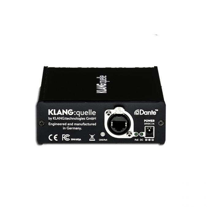 Klang Quelle 4-Ch Dante Network Headphone Amp