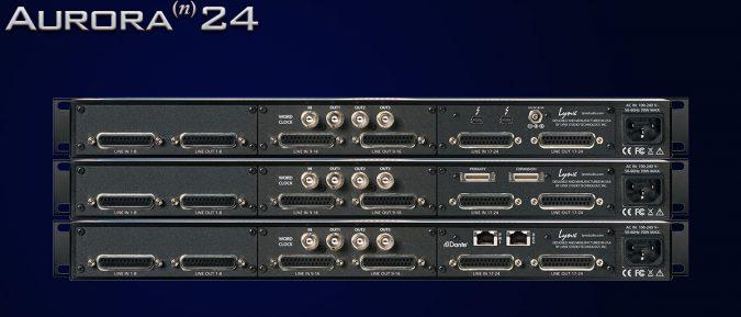 Lynx Aurora(n) 24 I/O D/A and A/D Converter