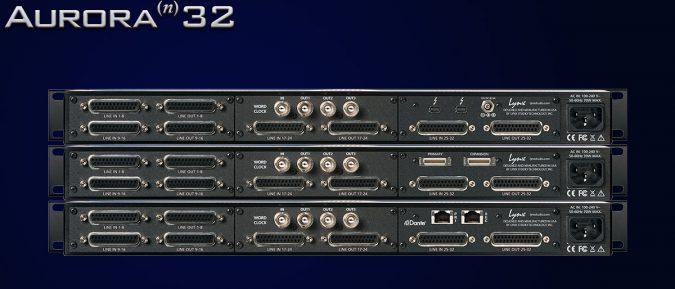 Lynx Aurora(n) 32 I/O D/A and A/D Converter