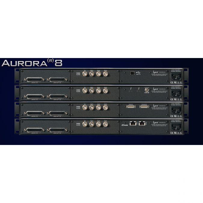 Lynx Aurora(n) 8 I/O D/A and A/D Converter