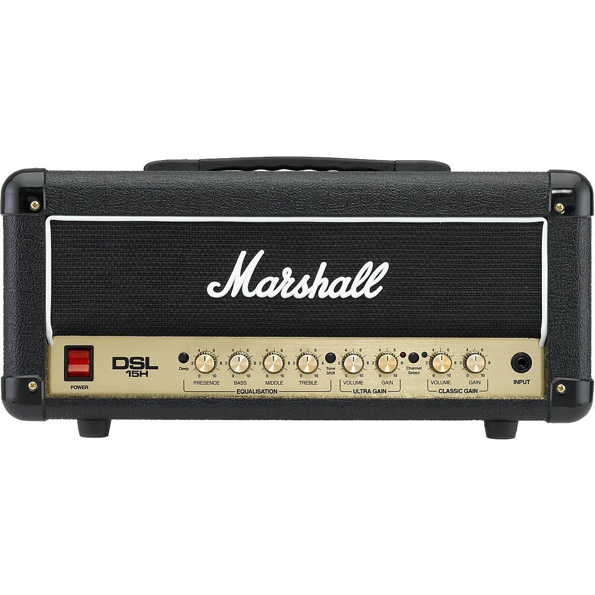 Marshall DSL15H 15 Watt Tube Guitar Amp Head (Discontinued) » Sonic Circus