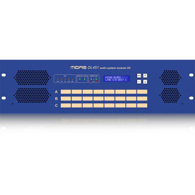 Midas DL451 Pro Series Modular Stage Box