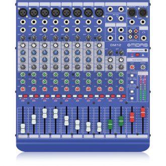 Midas DM12 Live & Studio Mixer