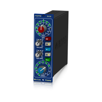 Midas 502 Mic Preamp 500 Series Classic XL4 Filters